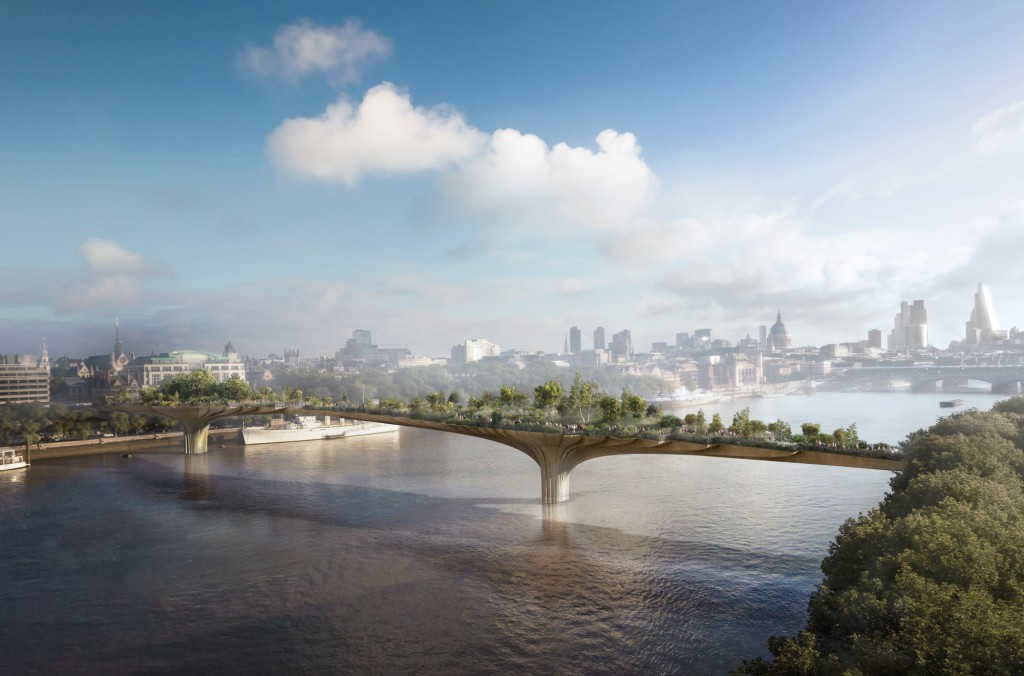 Garden Bridge London (Crédit Arup)