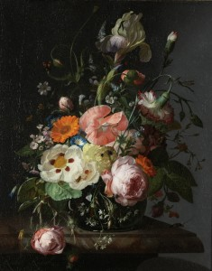 Ruysch - Nature morte,1716